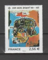 FRANCE / 2021 / Y&T N° 5466 ** : Oeuvre De Jean-Michel Basquiat X 1 BdF Bas Avec N° De Feuille Et Presse - Unused Stamps