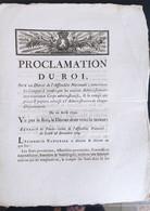 Lettres Patentes Du Roi Du 20 Avril 1790 - Decreti & Leggi