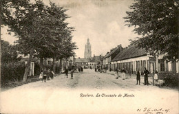 België - Roulers - La Chaussee De Menin - 1905 - Unclassified