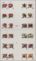 Thematik: Flora, Botanik / Flora, Botany, Bloom: 1981, Niue. Blossoms. Progressive Proof (7 Phases) - Sonstige