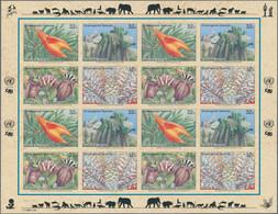 Thematik: Flora, Botanik / Flora, Botany, Bloom: 1996, UNO New York. Endangered Species IV (4 Values - Sonstige