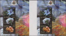 Thematik: Flora, Botanik / Flora, Botany, Bloom: 2011, San Marino. Flower Cultivars. Horizontal Pair - Sonstige