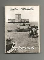 17 Marennes Centre Ostreicole Album Carnet 12 Images Légendées Photo Carte 7,5x10,3 Cm - Marennes