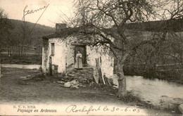 België - Paysage Ardennes - 1905 - Ohne Zuordnung
