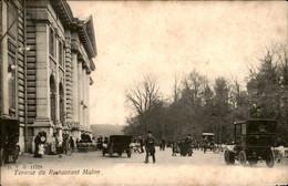 België - Malon - Terasse Du Restaurant - Cafe - 1905 - Ohne Zuordnung