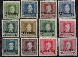 OCC AUSTRO-HONGR. EN ITALIE 1918 * - Nuevos