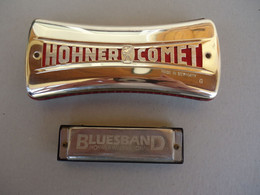 Harmonica  HOHNER  Made In Germany -  Hohner Comet G -   Hohner International  Bluesband - Strumenti Musicali