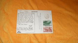 CARTE POSTALE PUBLICITAIRE ANCIENNE DE 1949./ IONYL CLICHE AGENCE DES COLONIES..CACHETS ABIDJAN COTE D'IVOI + TIMBRES X2 - Cartas