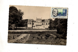 Carte  Brunoy Chateau  Soulins Cachet  Sur Beclere - Brunoy