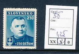 SLOVENSKO YVERT 38 LH - Nuovi