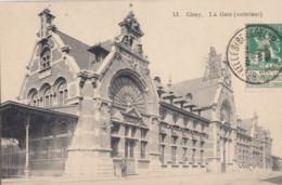 CINEY / LA GARE  1913 - Ciney