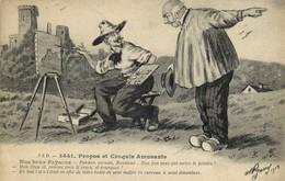 Illustrateur Signé A P Jarry 3441 Propos Et Croquis Amusants Nos Bons Paysans  RV - Humour