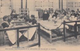 LIEGE / EXPOSITION / UNE CLASSE PROFESSIONNELLE ET MENAGERE  1905 - Liège