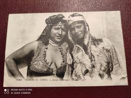 Ancienne Carte Postale  - Scénes Et Types - Jeunes Mauresques - Tunisia