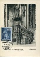 64570 Austria, Maximum 1947  The Cathedral Of St. Stephen, Heilig Stephen  Stephandom, ,architecture - Cartas Máxima