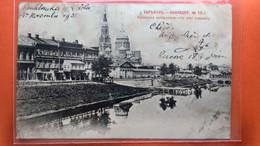 CPA. Kharkoff.  Le Quai Lopansky . Timbres Et Cachets De Russie   (R3.655) - Rusland