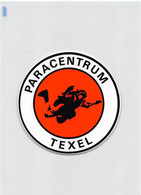 "12513 "" PARACENTRUM TEXEL "" ZELFKLEVEND-AUTOADESIVO - Parachutting"