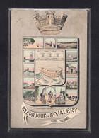 (31/05/21) 76-CPA SAINT VALERY SUR SOMME - UN BONJOUR - Saint Valery Sur Somme