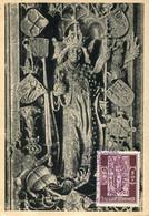 64573 Austria, Maximum 1947, Stephansdom Tumbadeckel Grabmal Kaiser Friedrichs III, Tomb Of Friedrich III - Cartas Máxima