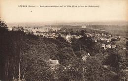 92 SCEAUX #28157 VUE PANORAMIQUE PRISE DE ROBINSON - Sceaux