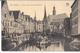 """ANVERS -ANTWERPEN""""VUE DE L'ANCIEN CANAL AUX CHARBONS-ZICHT OP DE KOOLKAAI""""HERMANS N°64 - Antwerpen"""