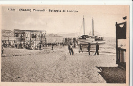 Cartolina - Postcard / Non Viaggiata - Unsent /  Pozzuoli - Spiaggia Di Lucrino. - Pozzuoli