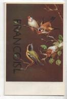 Trois Oiseaux Sur Une Branche. Coloprint  44162/1 - Oiseaux