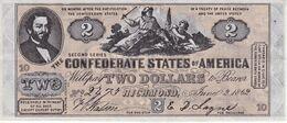 BILLETE DE ESTADOS UNIDOS DE 2 DOLLARS DEL AÑO 1862 (REPRODUCCIÓN) - Other