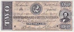 BILLETE DE ESTADOS UNIDOS DE 2 DOLLARS DEL AÑO 1864 (REPRODUCCIÓN) - Other