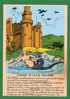 86  LUSIGNAN Legende De La Fee Melusine, Illustrateur, Sirene CPM  Impeccable  N°33 EDIT ARTAUD - Lusignan