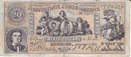 BILLETE DE ESTADOS UNIDOS DE 20 DOLLARS DEL AÑO 1861 (REPRODUCCIÓN) - Other