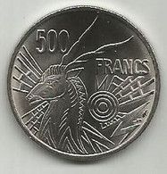 Central African States Chad 500 Francs CFA 1976. KM#12 Letter A - Chad