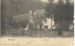 WAULSORT : La Station - Nels Série 7 N° 184 - Cachet De La Poste 1906 - Yvoir
