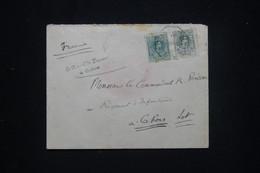 ESPAGNE - Enveloppe Du Consul De France à Cadix Pour Un Commandant En France En 1920  - L 98803 - Cartas