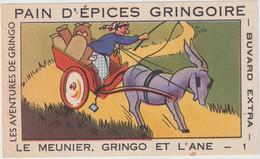 Buvard - Pain D'épices Gringoire . Les Aventures De Gringo - Le Meunier , Gringo Et L'Ane - 1 - Pain D'épices