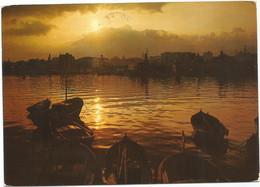 F3573 Saluti Da Palermo - Panorama Al Tramonto - Sunset Coucher / Viaggiata 1975 - Palermo