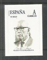 Slania, Selfportrait Based On Engraving On Spain Tusello Tu Sello Customized Stamp - Non Classés