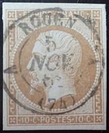 "LP180/45 - NAPOLEON III N°13B Avec SUPERBE CàD De ROUEN "" A "" Du 5 NOVEMBRE 1862 - 1853-1860 Napoléon III"