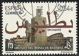 2014-ED. 4868 COMPLETA-Milenio Del Reino De Badajoz USADO - 2011-... Afgestempeld