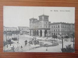 Allemagne / Deutschland - Berlin - Görlitzer Bahnhof - Carte Animée, Circulée En 1907 - Other