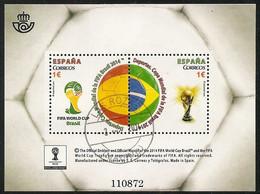 2014-ED. 4890 H.B. -Copa Mundial De La FIFA Brasil 2014-USADO - 2011-... Usados
