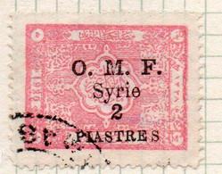 37CRT1109 - SYRIA SIRIA 1921, Yvert Il N. 78  Usato - Gebraucht