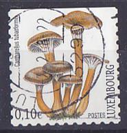 Timbre Du Liechtenstein De 2002 - Champignons Coulmelles - Tp Oblitéré - Gebruikt