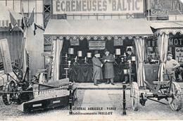 GRAY (Haute-Saône) - PARIS. Concours Général Agricole De 1908. Ets MILLOT - Stand écrèmeuses BALTIC. Circ. En 1908. 2 Sc - Gray