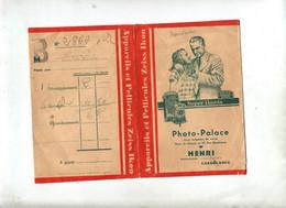Pochette Photo Henri Casablanca  Publicité Appareil Zeiss Pernox Film - Material Y Accesorios
