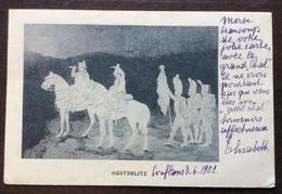 NAPOLEONE AUSTERLITZ  (firmata Espinasse) - CARTOLINA PER ANNA MARIA BORGHESE PALAZZO BORGHESE ROMNA IN DATA 8/6/1902 - Mundo