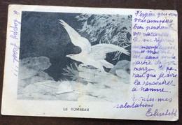 NAPOLEONE - LE TOMBEAU  (firmata Espinasse) - PER ANNA MARIA BORGHESE ROMA  RISPEDITA ATTIGLIANO IN DATA 23/7/1902 - Mundo