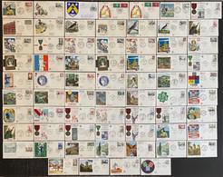 France - Premier Jour - Lot De 67 FDC - Thématique Divers - 1960 - 1960-1969