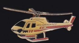71180-Pin's.Heli Air Monaco.Hélicoptère.Aviation. - Aerei
