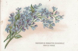 CHROMO CHOCOLAT AIGUEBELLE   FLEURS - Aiguebelle